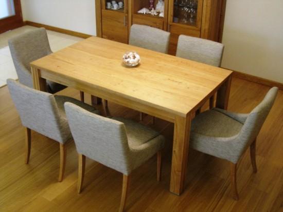 971c7f54585f Jedálenský set pre 8 osôb ( rozkladací jedálenský stôl ) - Masívny ...