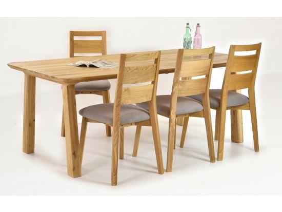 Jedálenský stôl Tina a stoličky VIRGINIA (sedenie pre 4 až 8 osôb)