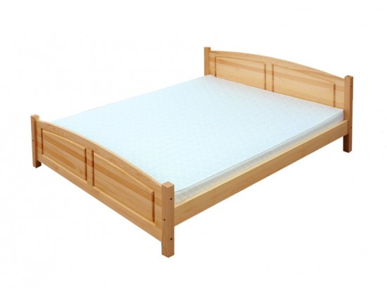 Manželské postele z masívu 200 x 200