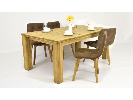 Jedálenský stôl z dubu (pre 4 až 6 osôb)