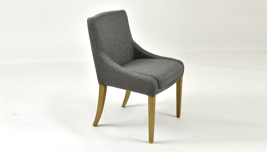 Dubová pohodlná stolička 009 farba látky 1205
