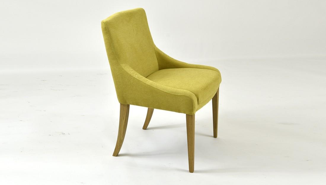 Dubová pohodlná stolička 009 farba látky 2028