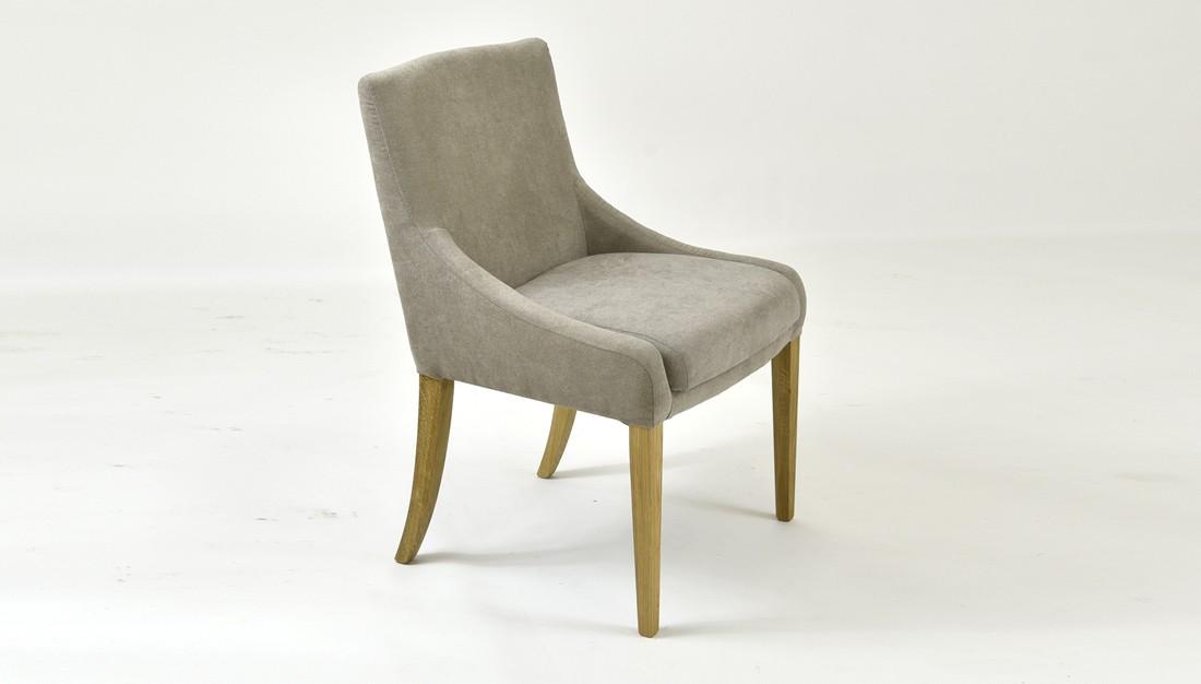 Dubová pohodlná stolička 009 farba látky 2029