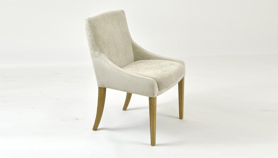 Dubová pohodlná stolička 009 farba látky 2034