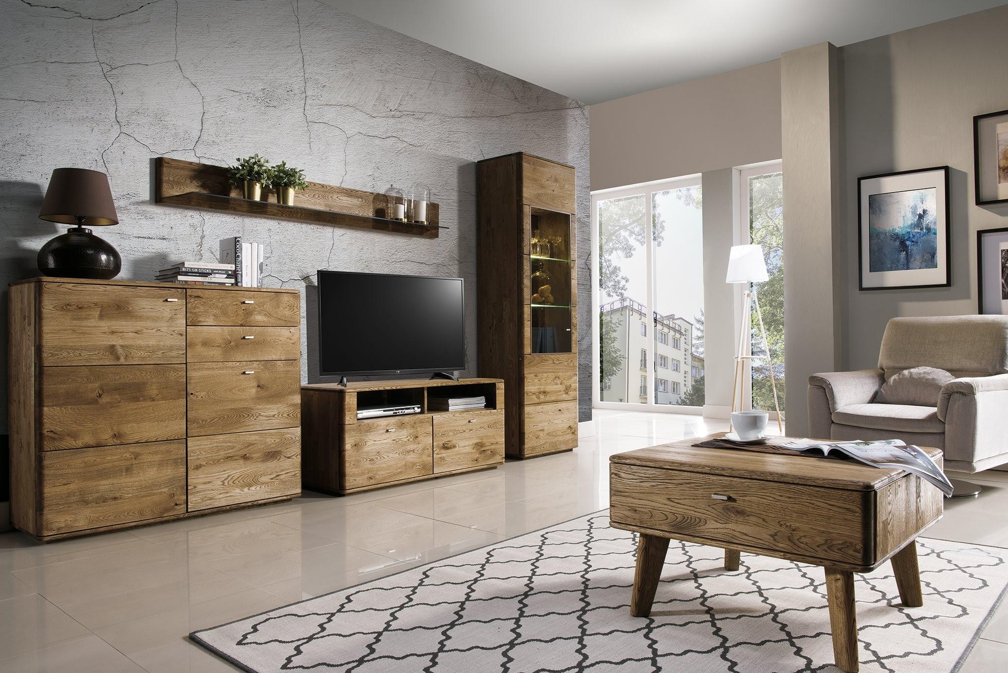 1c5474740b7a Moderná obývacia zostava dub