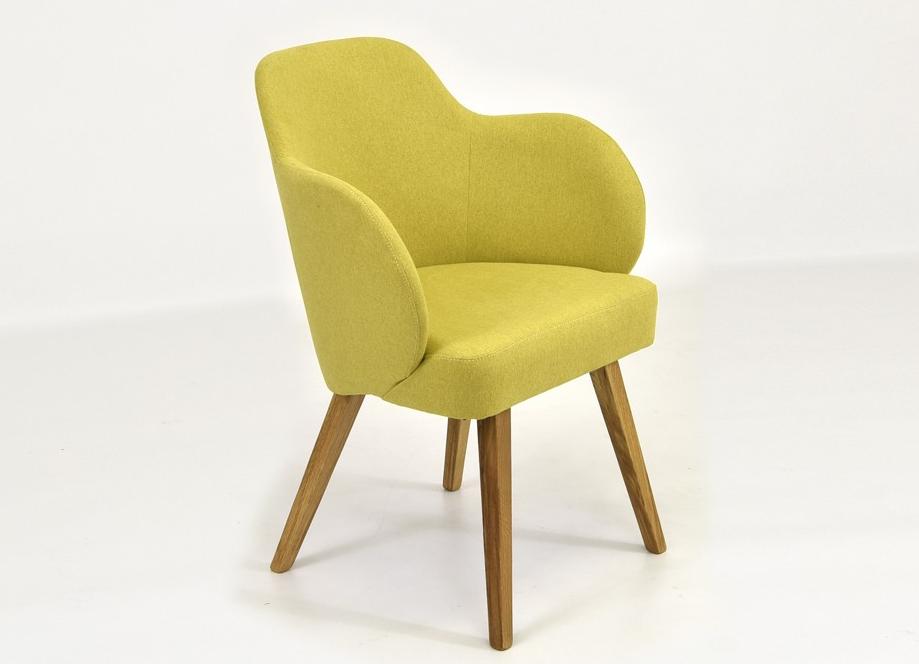 žltá stolička do jedálne
