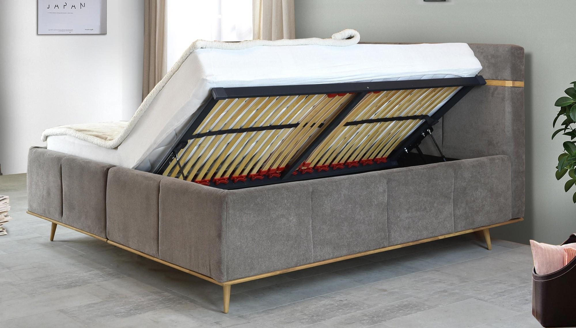 boxspring manželská postel 160 x 200