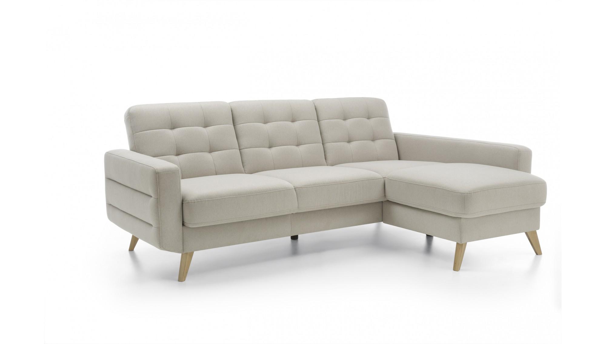 Rohová sedačká s možnosťou rozloženia na posteľ a úložným priestorom