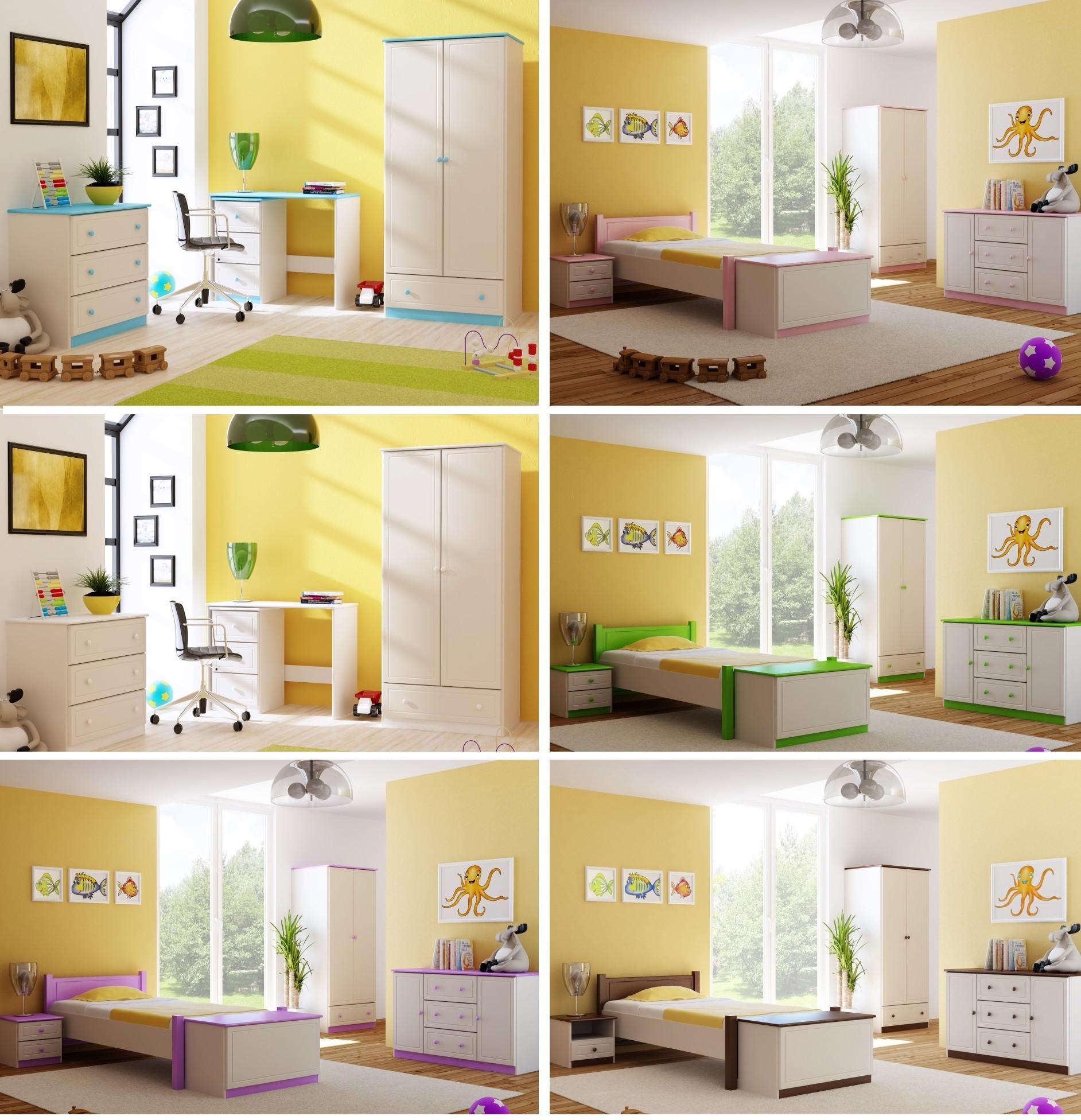 6d54140ee67d Pevná drevená posteľ do detskej izby vyrobená v harmoníi s prírododou .