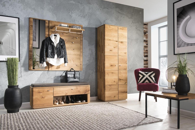 Dubový nábytok do chodby, vešiaková skriňa