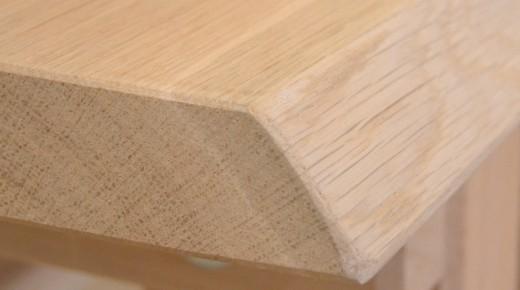 Záhradný drevený stôl vyrobený z masívu 4,5 cm