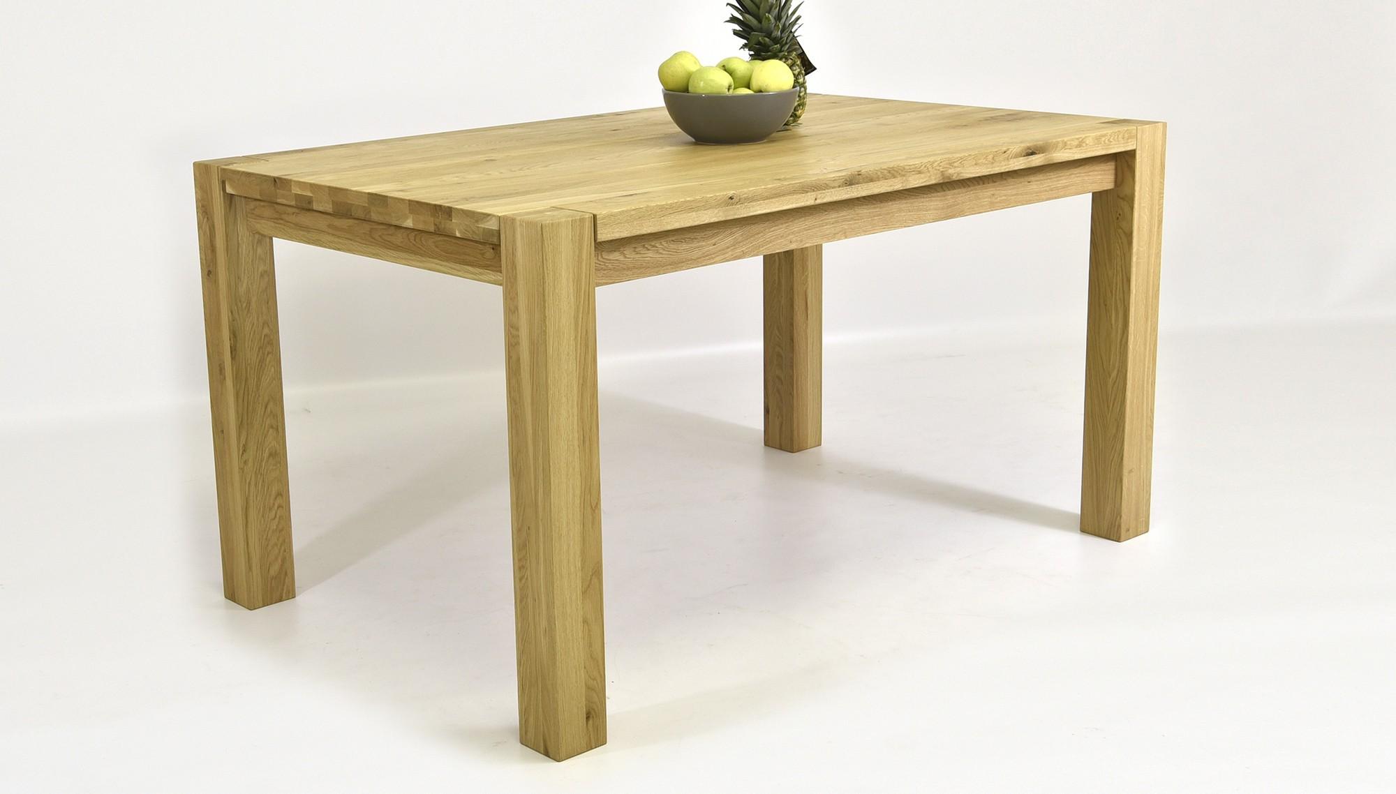 67f5a830142d Masívny rodinný dubový stôl (120 x 80