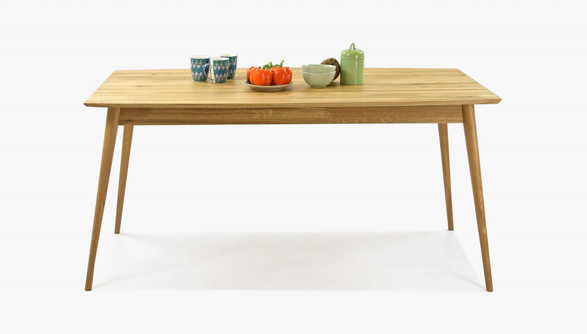 Pevný dubový stôl masív do jedálne