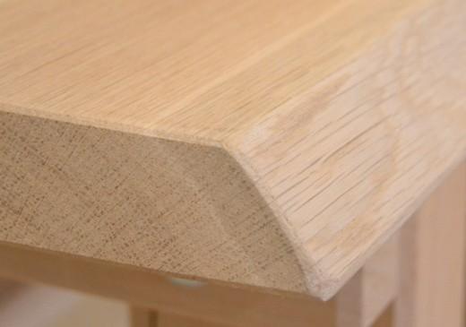 Drevený stôl dubový hrúbka masívu 4,5 cm