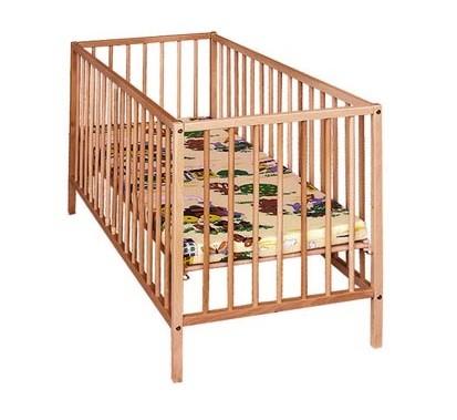 Jednoduchá detská posteľ