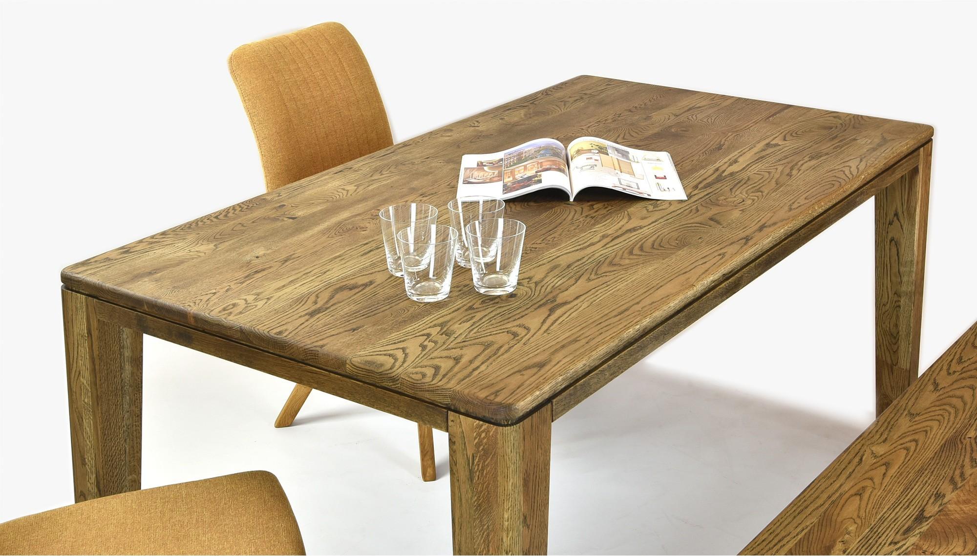cc4ac9657796 Masívny dubový stôl york dub paleny