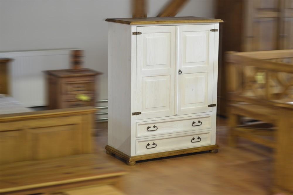 Bielizník z masívu - rustikálný nábytok Mirek