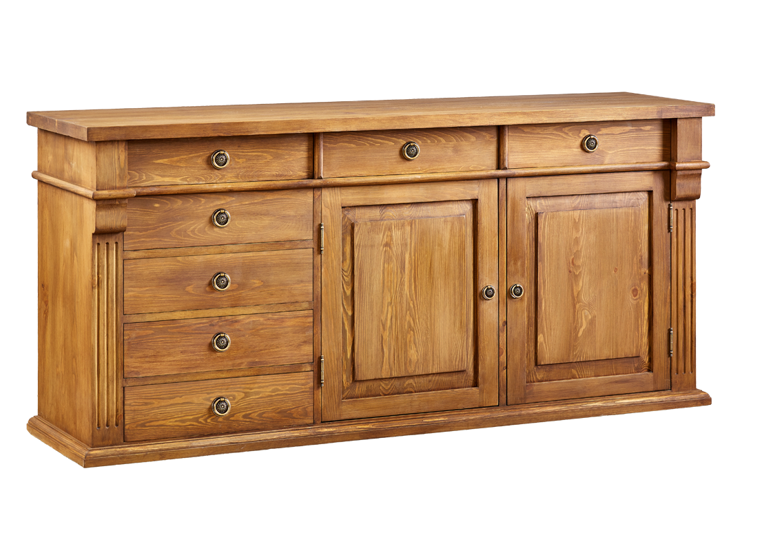 komoda z dreva lakovaná do obývačky aj spálne