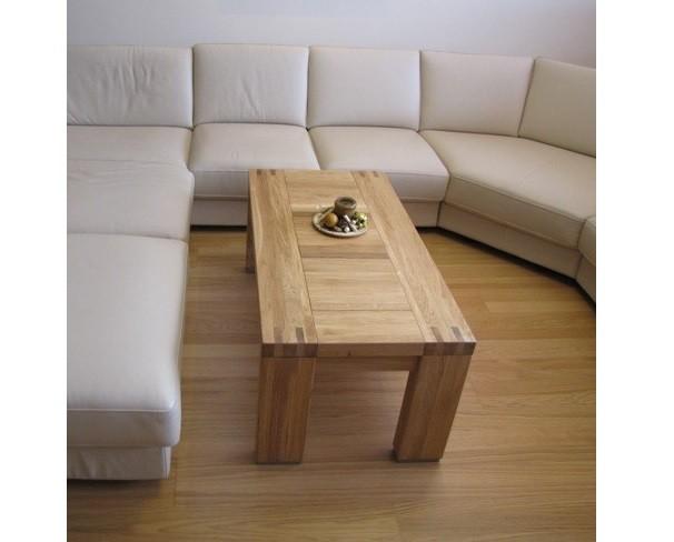 Moderný konferenčný stolík z dreva