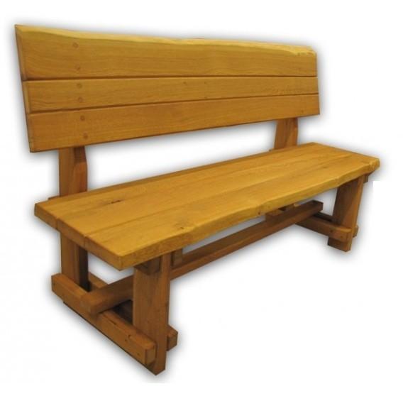Záhradne lavice - povrchová úprava olej
