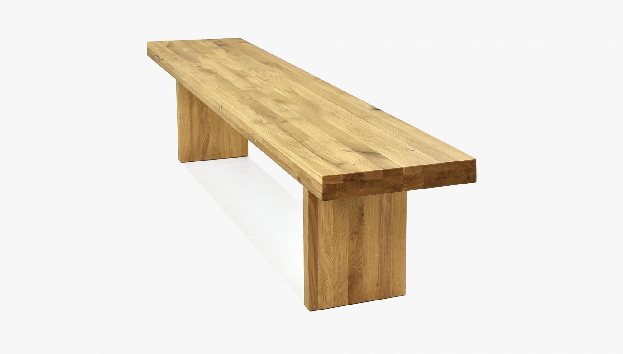 Lavica do jedálne z dreva