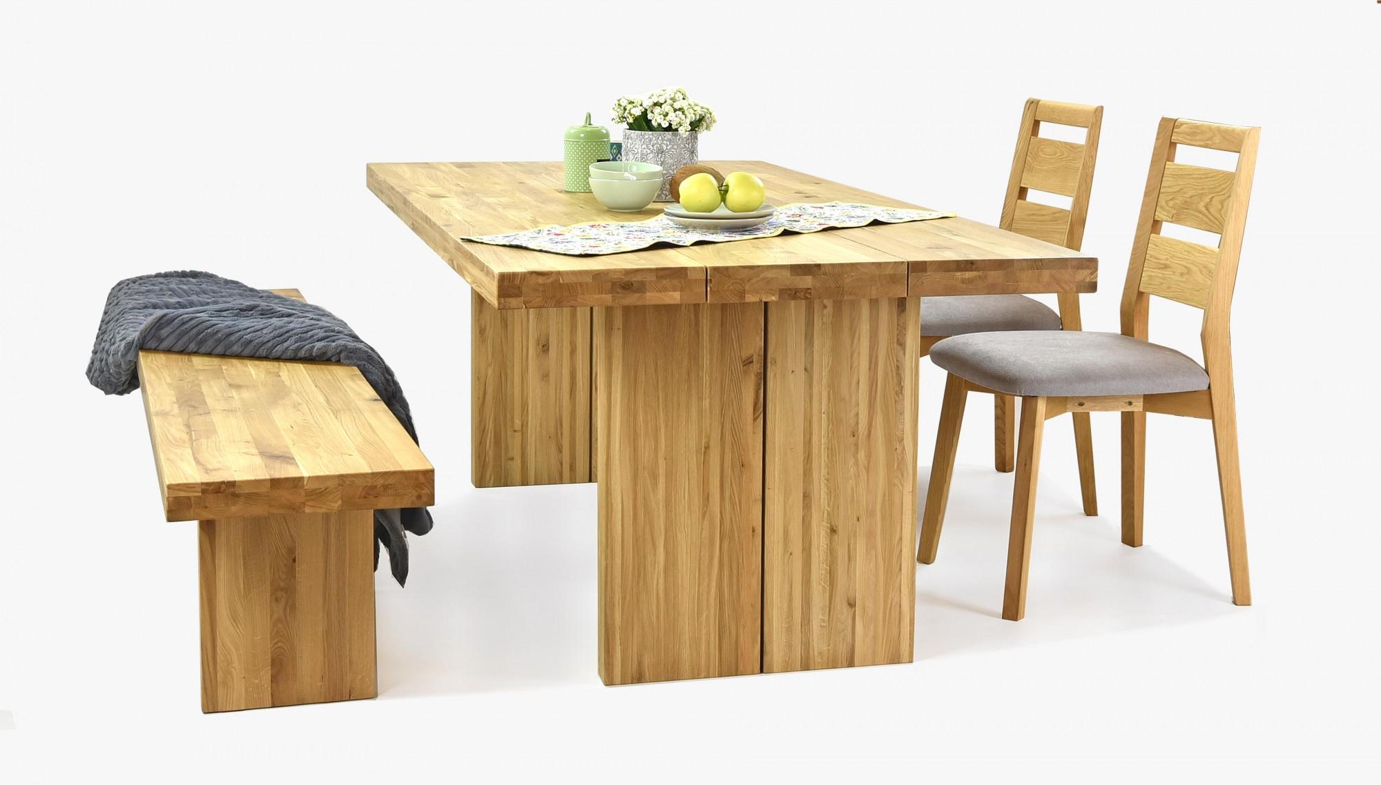 Dubový nábytok do jedálne Mirek