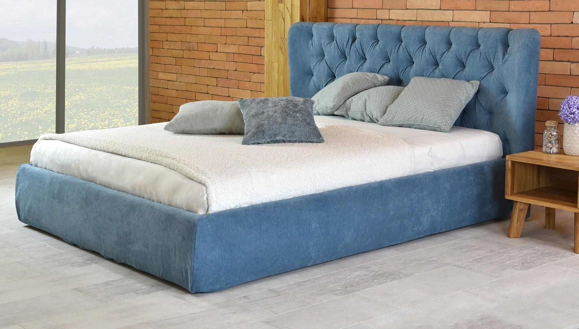 31d86f820611 Manželská čalúnená posteľ (glam 160 x 200