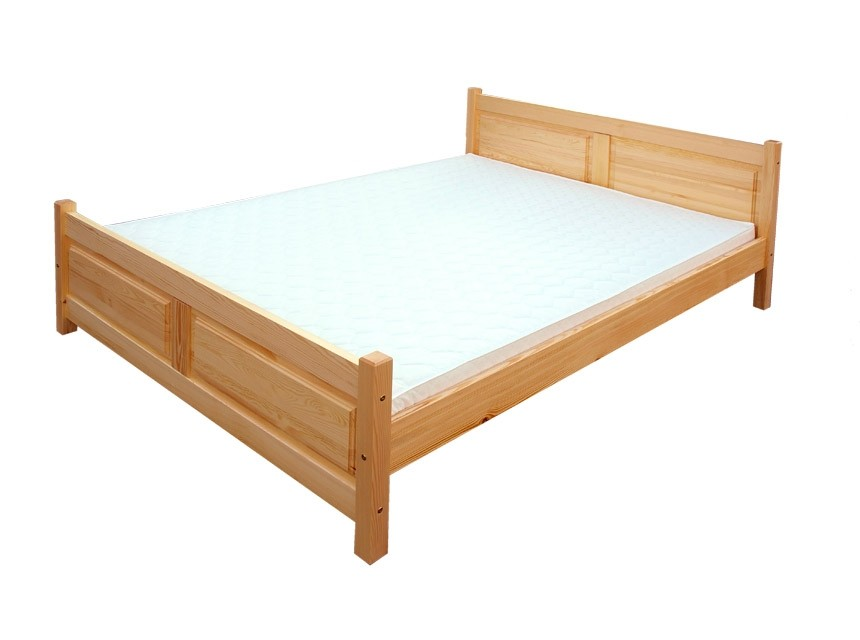 Manželská posteľ z dreva