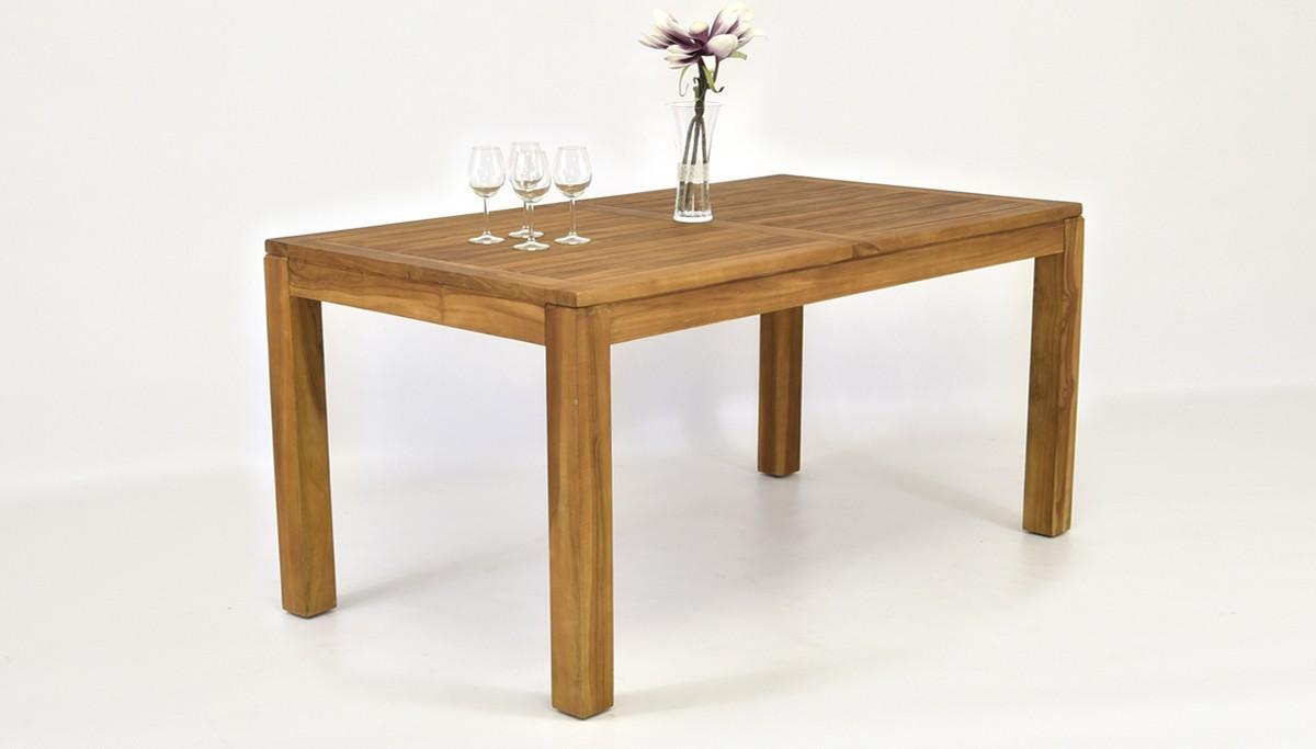 záhradný stôl z teakového dreva