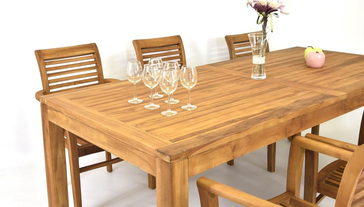 547dac389b75 Záhradný stôl z teakového dreva