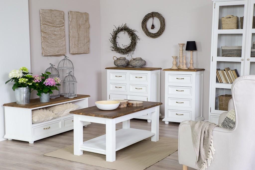 d57b99f0dfa0 Televízna komoda z čistého dreva - provensalský nábytok Nábytok do obývačky  ...