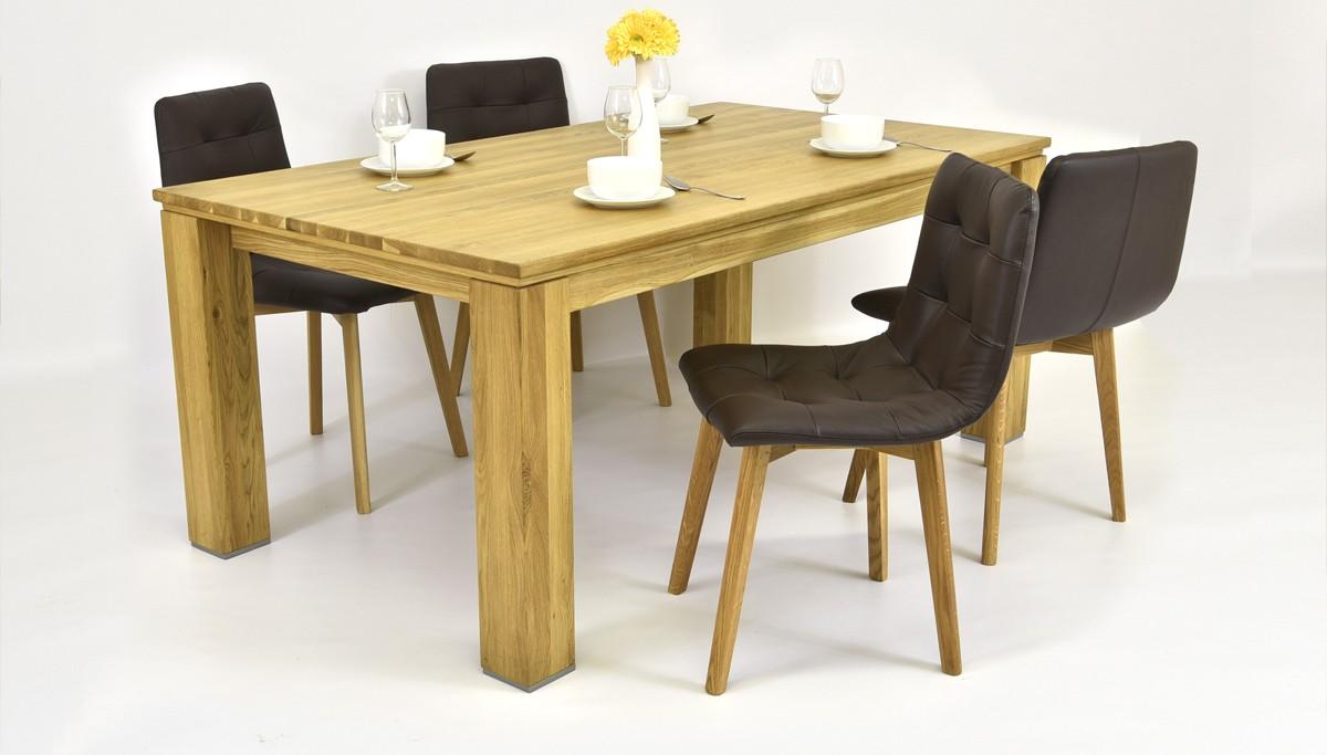 Dubový stôl do jedálne Mirek