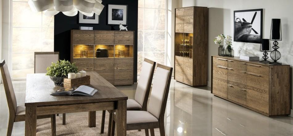 Nábytok do obývačky z dreva