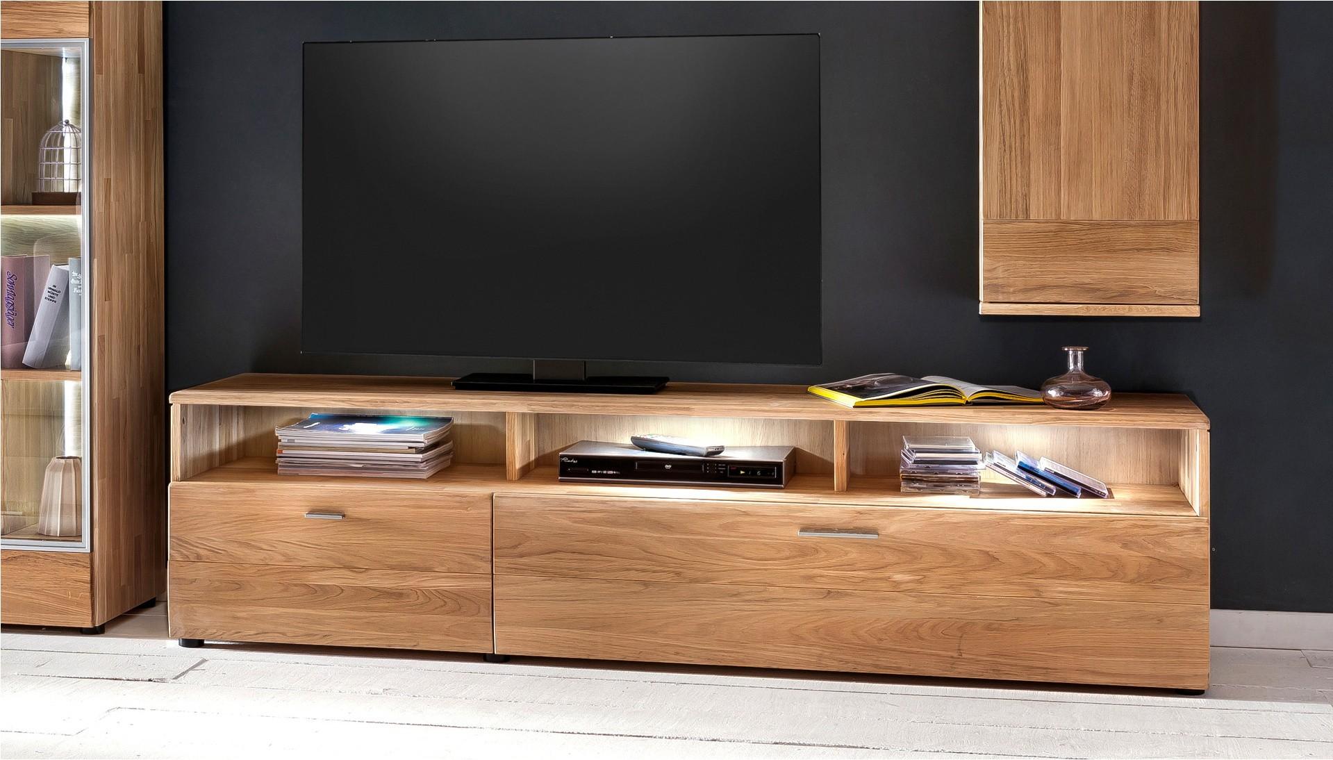 TV komoda z dreva