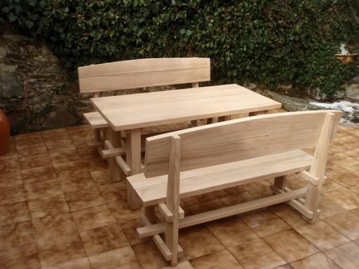 90bd406ac2a5 ... Záhradný nábytok z dubového dreva ...