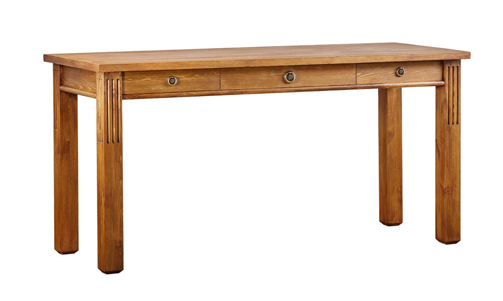 Drevený pc stolík lux