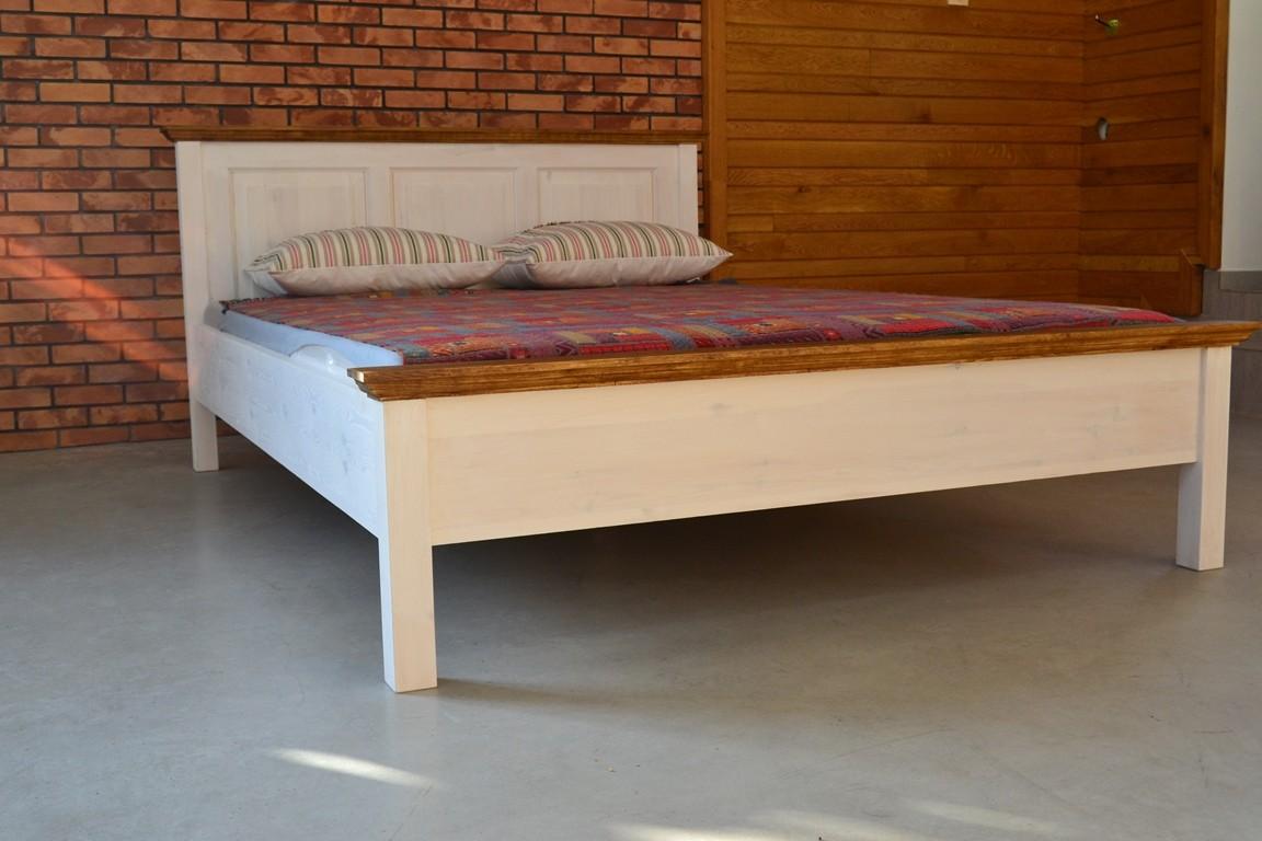 biela poste 160 x 200. Black Bedroom Furniture Sets. Home Design Ideas