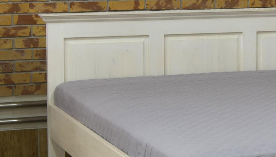 d35cc6ce330c ... Biela manželská posteľ z dreva 160 x 200 alebo 180 x 200 (LUX) ...