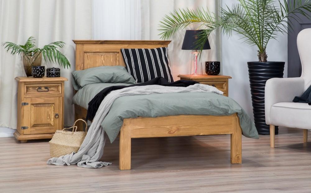 Drevená posteľ 90 x 200