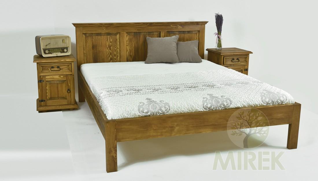 Drevená posteľ 180 x 200 z masívu