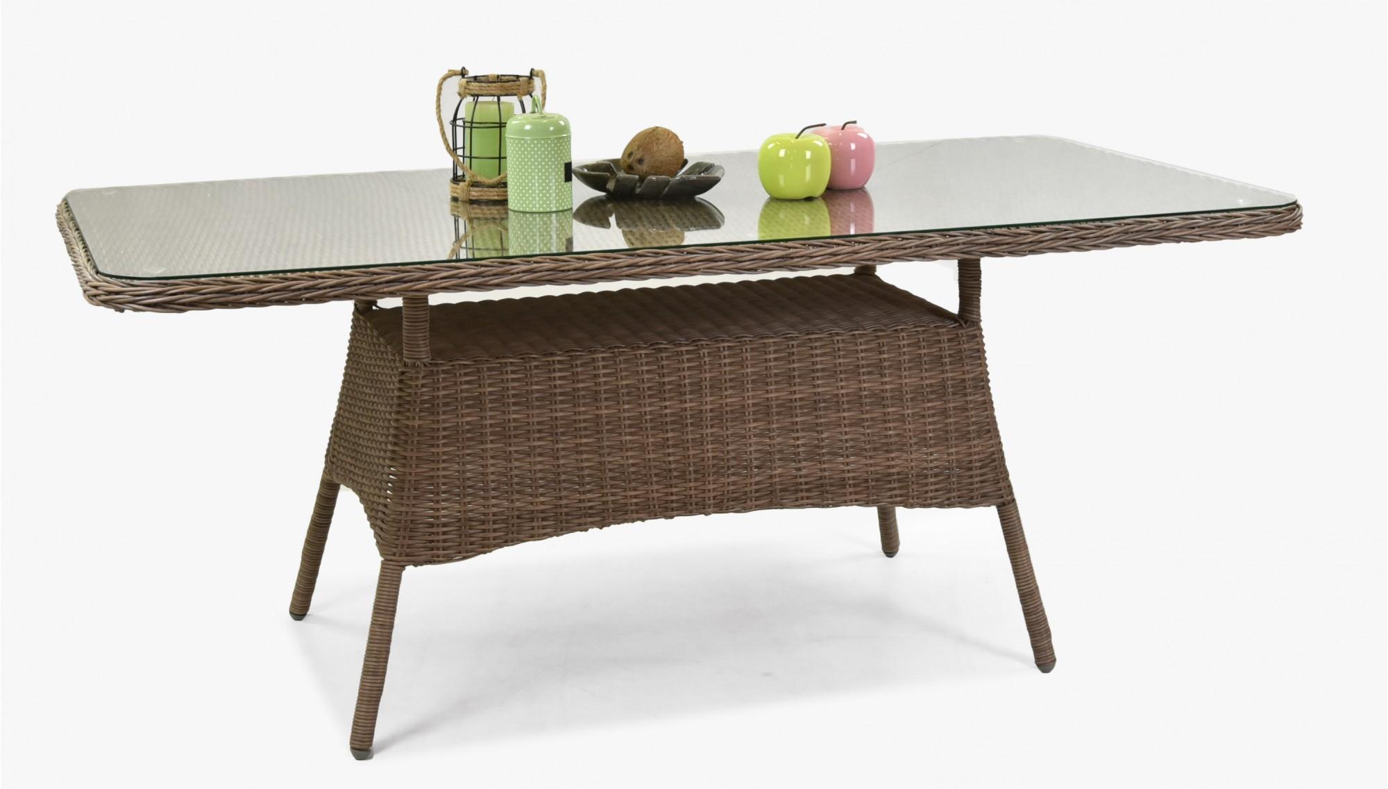 Záhradný stôl ratan