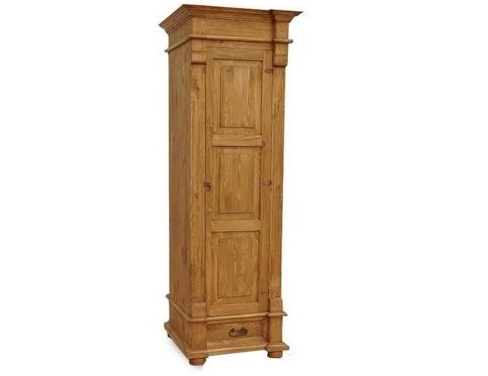 Jednodverová drevená skriňa