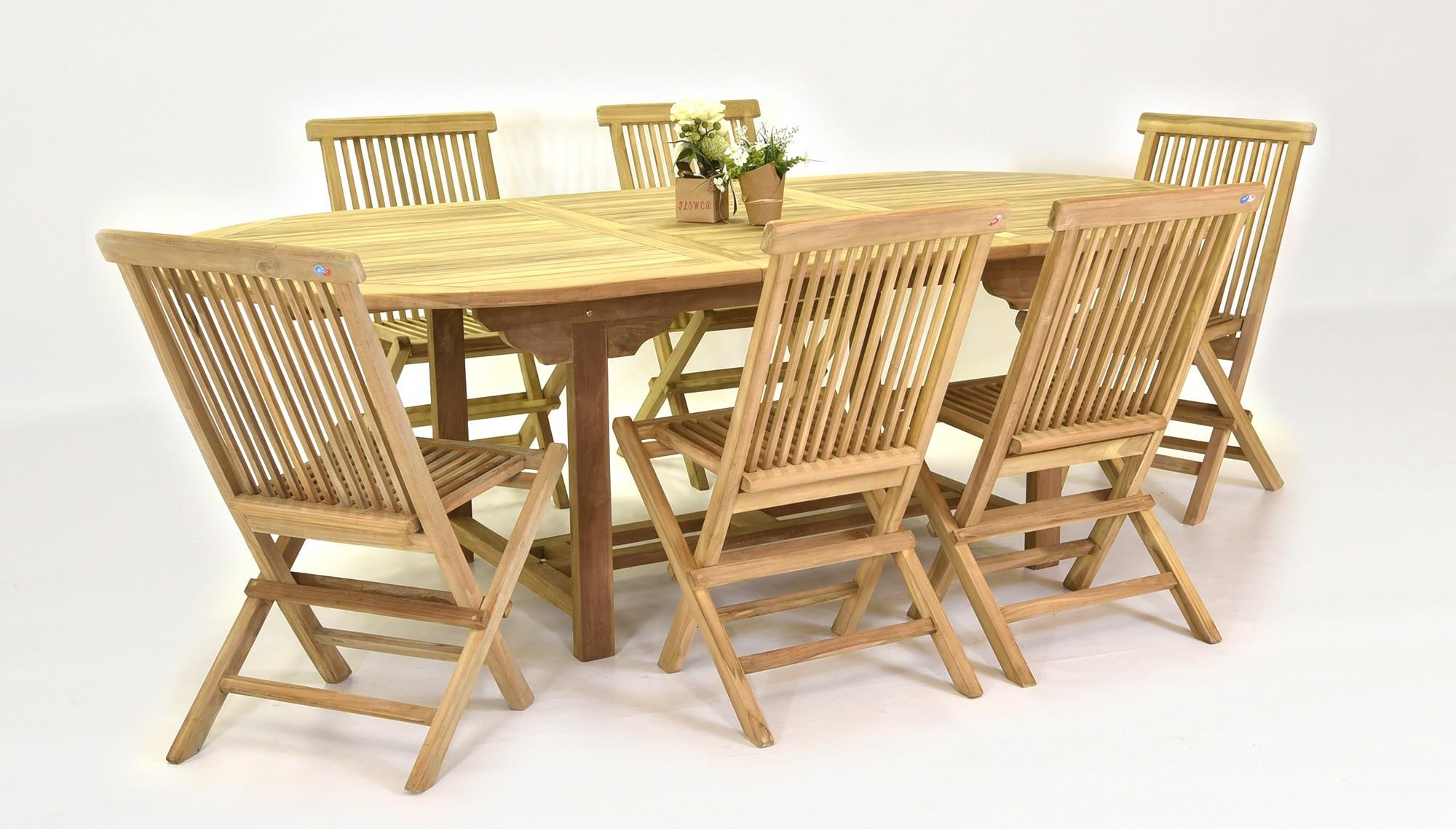 Záhradný nábytok teak - anglický dizajn