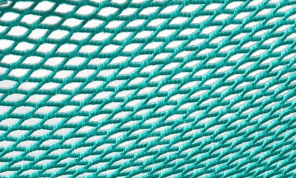 Hojdacia sieť do záhrady zelená