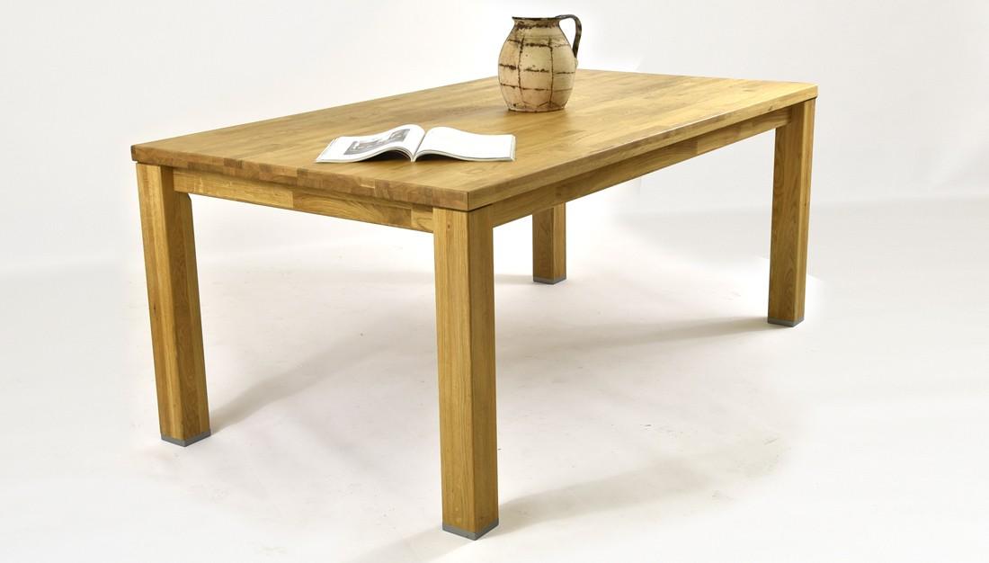 dubový jedálenský stôl do jedálne