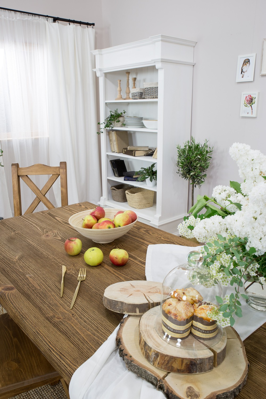 Drevený stôl do jedálne masív