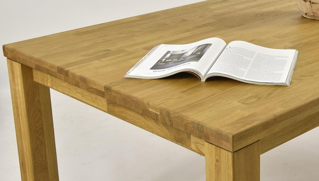 c9dff74a5a91 ... Masívny stôl do jedálne (210 x76 x100)