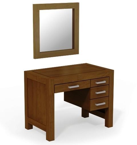 Toaletný stolík so zrkadlom