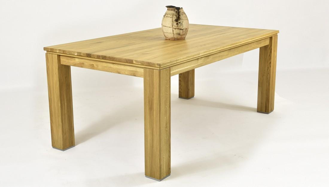 Moderný dubový stôl do kuchyne