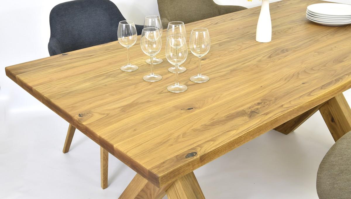 4cfb3779cbe0 Základná cena je kalkulovaná na dubový masívny stôl X v rozmere 200 x 100 a  4 extra pohodlné stoličky model THEO II - farba nemá vplyv na cenu .
